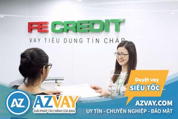 Điều kiện và thủ tục vay tín chấp theo lương tại FE Credit đơn giản, nhanh gọn