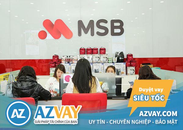 Thủ tục vay tín chấp theo lương tại MSB đơn giản