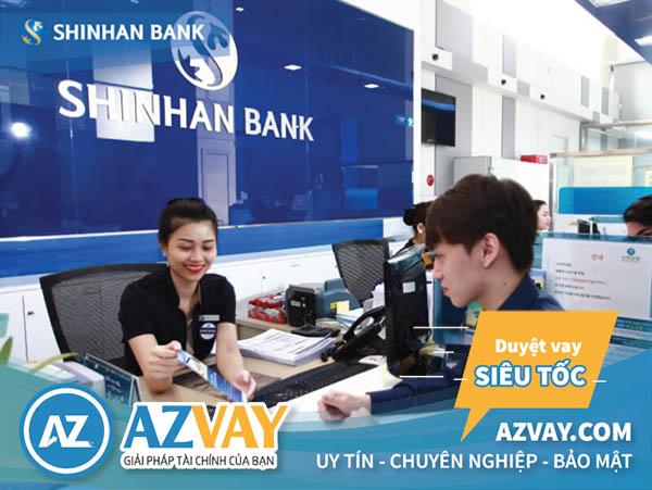 Điều kiện vay tín chấp theo lương ngân hàng Shinhan Bank đơn giản