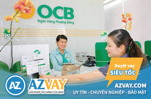 Vay tín chấp theo lương tiền mặt ngân hàng OCB