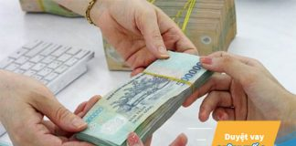 Vay tín chấp theo lương tiền mặt ngân hàng nào lãi suất thấp