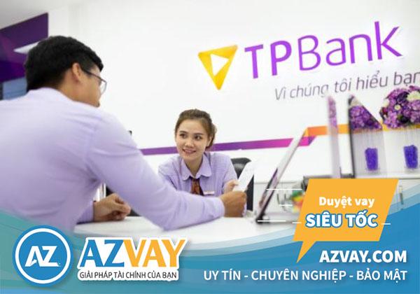 lãi suất vay theo lương ngân hàng TPbank