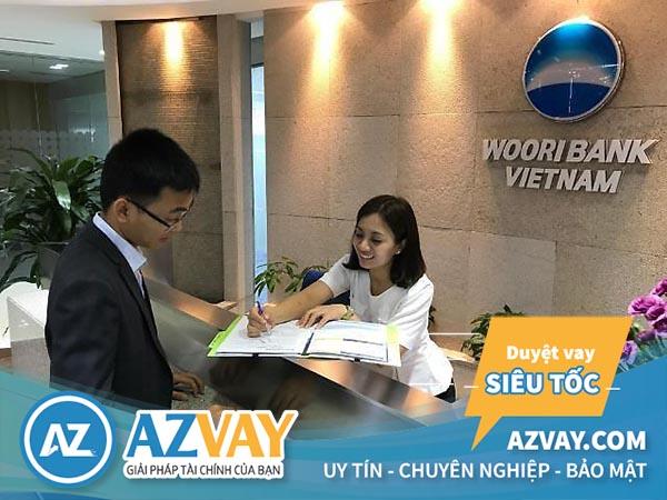 Mức lãi suất vay tín chấp theo lương tại Woori Bank ưu đãi