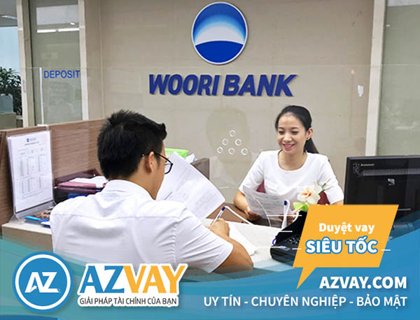 vay theo lương của ngân hàng Woori Bank