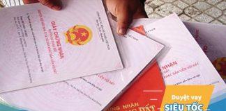 Sổ đỏ chưa đóng thuế thổ cư và được ủy quyền thì có vay vốn ngân hàng được không?