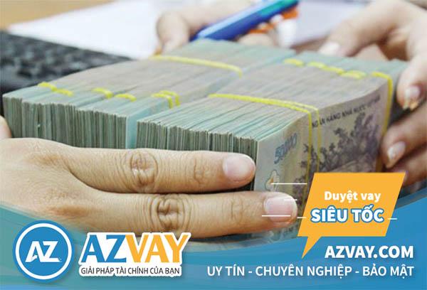 Khách hàng có thể vay tới 24 tháng lương với mức lương 15 triệu/tháng