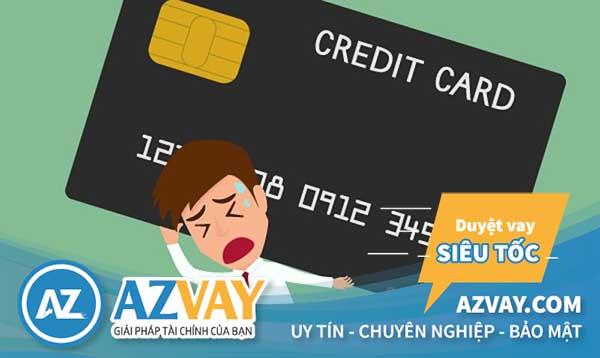 Nợ xấu liệu có làm được thẻ tín dụng hay không