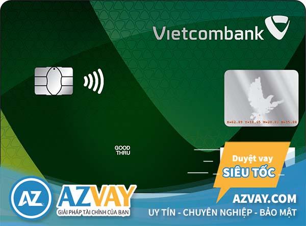 Với lương 6 triệu bạn có thể làm thẻ tín dụng Vietcombank Visa Chuẩn