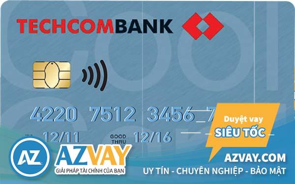 Thẻ tín dụng Visa Classic Techcombank