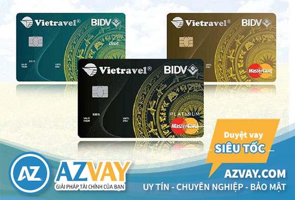 Ngân hàng BIDV phát hành thẻ tín dụng BIDV Vietravel MasterCard Standarddanh cho những người có mức lương 4 triệu