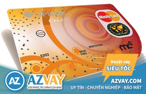 Ngân hàng VPBank hỗ trợ làm thẻ tín dụng Thẻ MasterCard MC2 với mức lương 5 triệu
