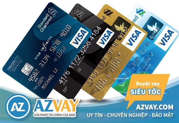 Các loại thẻ tín dụng Standard Chartered
