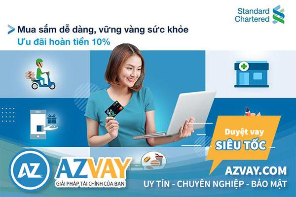 Thỏa sức mua sắm và thanh toán trực tuyến với thẻ tín dụng Standard Chartered