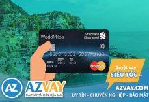 Hướng dẫn cách mở thẻ tín dụng ngân hàng Standard Chartered