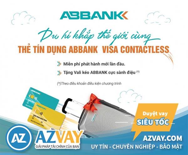 Thỏa sức mua sắm với thẻ tín dụng ABBank
