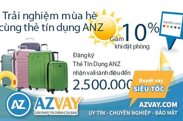 Đăng ký và sử dụng thẻ tín dụng ANZ với vô vàn ưu đãi