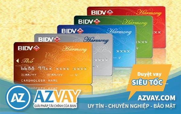 làm thẻ tín dụng bidv