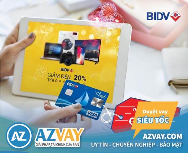 cách đăng ký thẻ tín dụng bidv