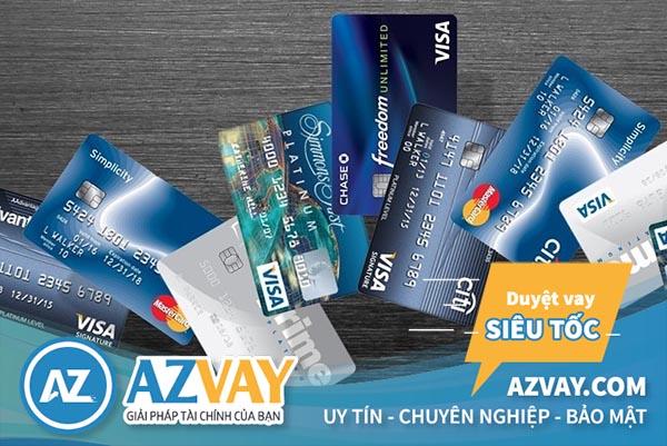 Các loại thẻ tín dụng Citibank