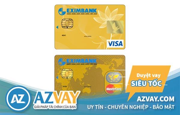 làm thẻ tín dụng eximbank