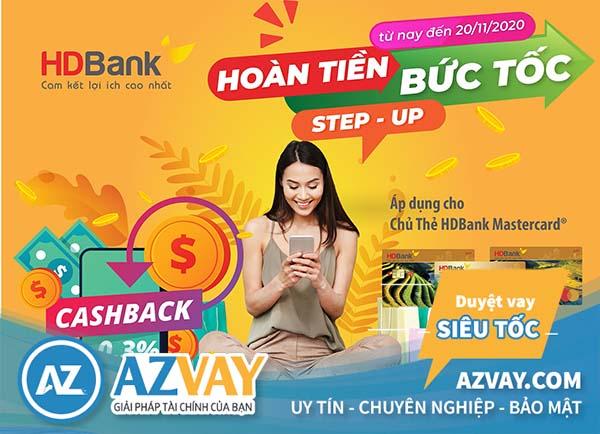 Nhiều ưu đãi khi chi tiêu thanh toán với thẻ tín dụng HDBank