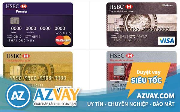 làm thẻ tín dụng hsbc