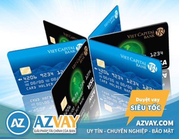Các loại thẻ tín dụng ngân hàng Bản Việt