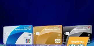 Hướng dẫn cách mở thẻ tín dụng ngân hàng Bản Việt
