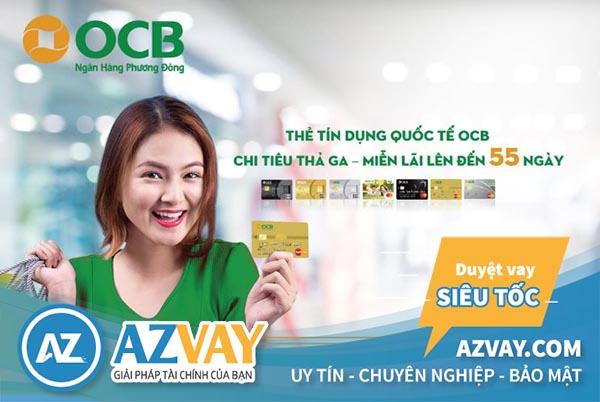 Nhiều ưu đãi khi sử dụng thẻ tín dụng OCB