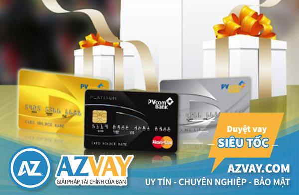 Các loại thẻ tín dụng PVcombank