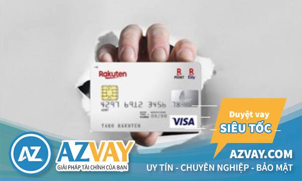 Điều kiện mở thẻ tín dụng Rakuten đơn giản