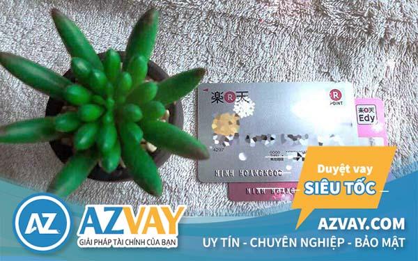 Thật dễ dàng để sở hữu thẻ tín dụng Rakuten