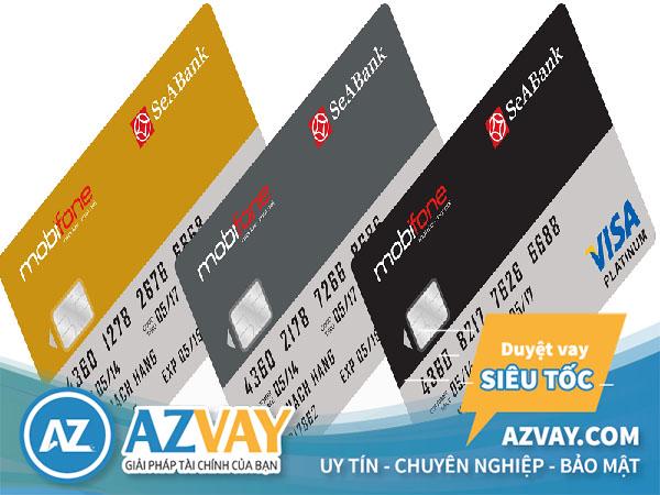 Các loại thẻ tín dụng SeAbank