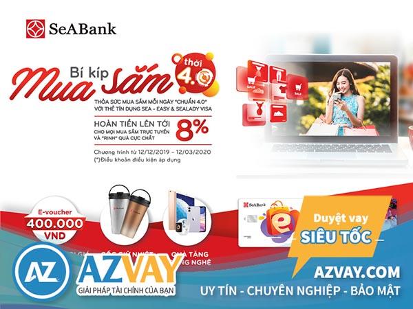 mở thẻ tín dụng seabank