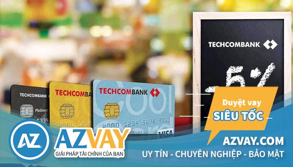 làm thẻ tín dụng của techcombank