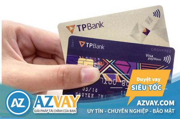 Một số loại thẻ tín dụng TPBank