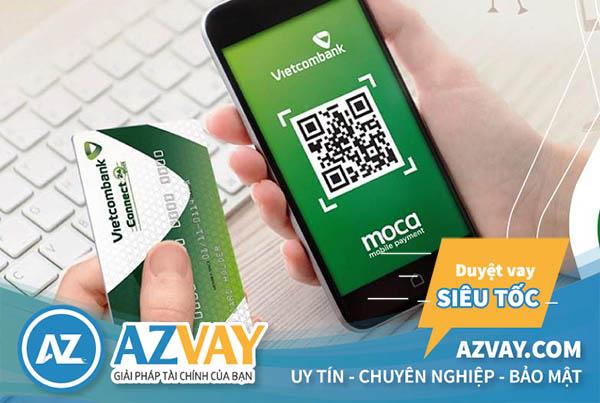 Khách hàng có thể đăng ký mở thẻ tín dụng Vietcombank online qua ứng dụng của ngân hàng