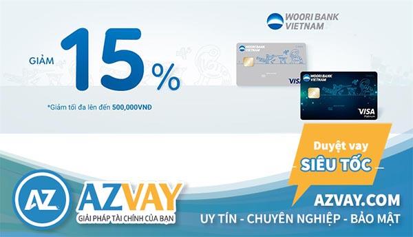 Thỏa sức mua sắm và thanh toán với thẻ tín dụng Woori Bank