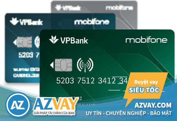 Thẻ tín dụng Mobifone-VPBank