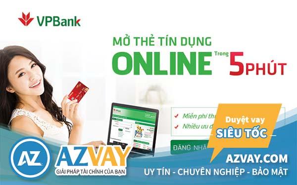 Ngân hàng VPBank hỗ trợ mở thẻ tín dụng hạn mức 50 triệu