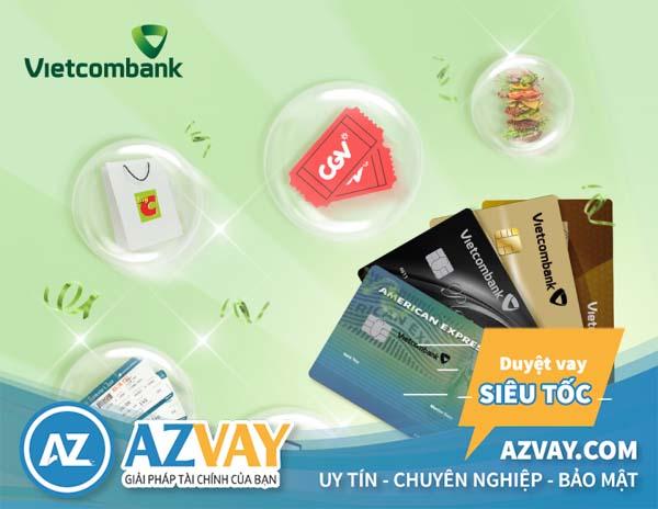 Mở thẻ tín dụng hạn mức 50 triệu tại Vietcombank