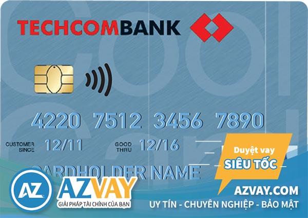 Mở thẻ tín dụng Techcombank Classic/Gold không cần sao kê bảng lương