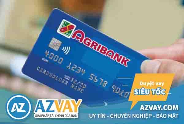 Mở thẻ tín dụng qua lương tiền mặt tại Agribank
