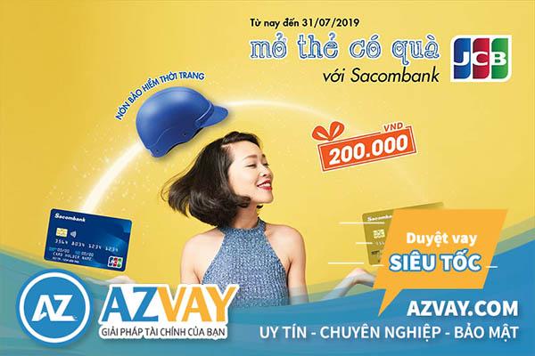 Mở thẻ tín dụng Sacombank tại Đà Nẵng