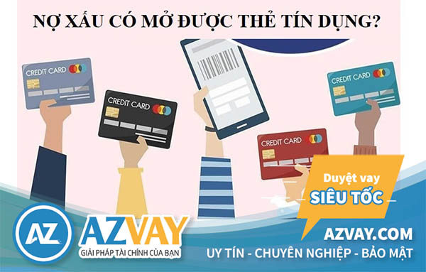 Nợ xấu nhóm 2 có làm thẻ tín dụng được không?