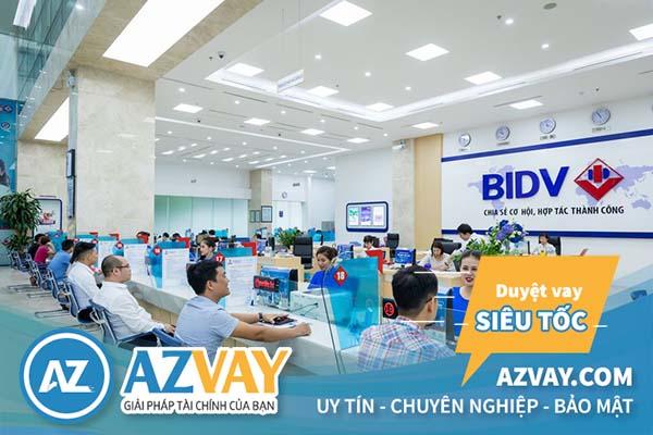 Điều kiện thủ tục vay tiền qua thẻ tín dụng BIDV đơn giản nhanh chóng