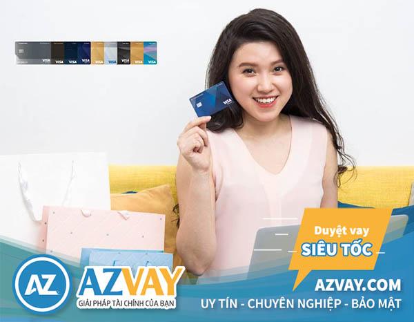 Vay tiền qua thẻ tín dụng Shinhan Bank với hạn mức lớn