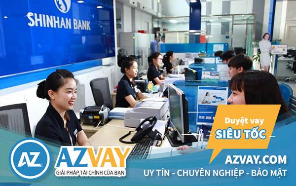 Thủ tục hồ sơ vay tiền qua thẻ tín dụng Shinhan Bank tương đối đơn giản
