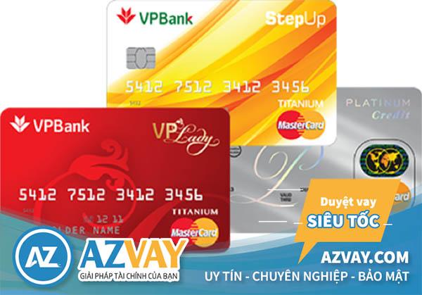 Tất các các loại thẻ tín dụng của VPBank đều có thể rút được tiền mặt