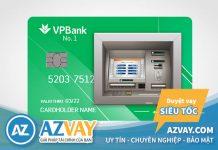 Thẻ tín dụng VPBank có rút tiền mặt được không? Mức phí bao nhiêu?